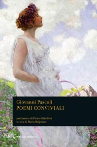 Libro Poemi conviviali Giovanni Pascoli