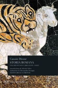 Libro Storia romana. Testo greco a fronte. Vol. 8: Libri 68-73. Cassio Dione
