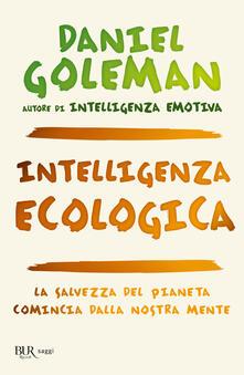 Intelligenza ecologica - Daniel Goleman - copertina