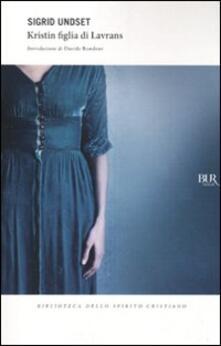 Kristin figlia di Lavrans - Sigrid Undset - copertina