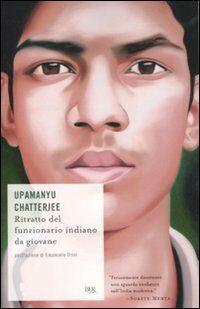 Ritratto del funzionario indiano da giovane