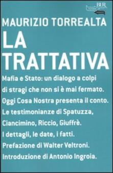 La trattativa - Maurizio Torrealta - copertina