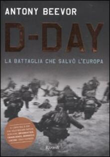 Librisulrazzismo.it D-Day. La battaglia che salvò l'Europa Image