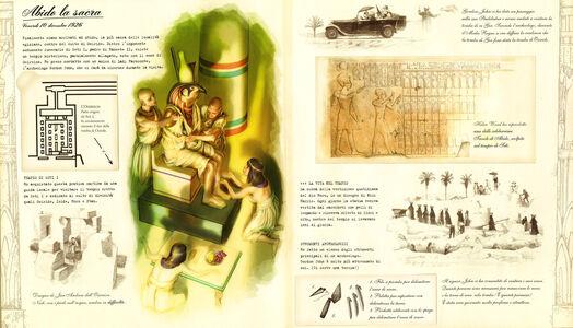 Libro Egittologia. Alla ricerca della tomba di Osiride  2