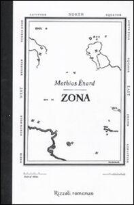 Libro Zona Mathias Énard