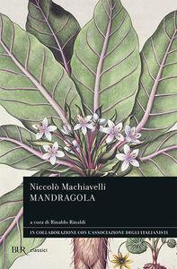 Libro La mandragola Niccolò Machiavelli
