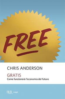 Gratis - Chris Anderson - copertina