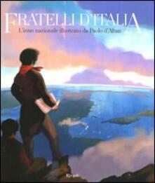 Warholgenova.it Fratelli d'Italia. L'inno nazionale illustrato da Paolo d'Altan. Con CD Audio Image