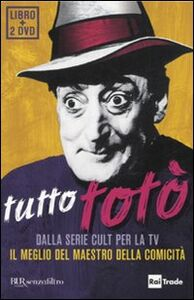 Foto Cover di Tutto Totò. Con 2 DVD, Libro di  edito da BUR Biblioteca Univ. Rizzoli