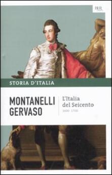 Criticalwinenotav.it Storia d'Italia. Vol. 5: Italia del Seicento (1600-1700), L'. Image