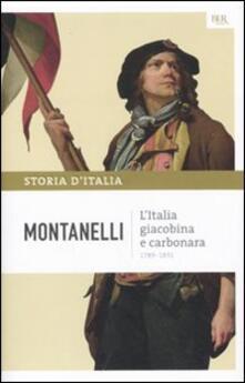 Grandtoureventi.it Storia d'Italia. Vol. 7: Italia giacobina e carbonara, L'. Image