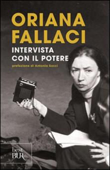 Intervista con il potere - Oriana Fallaci - copertina