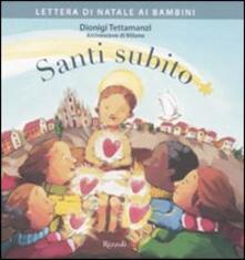 Letterarioprimopiano.it Santi subito. Lettera di Natale ai bambini Image