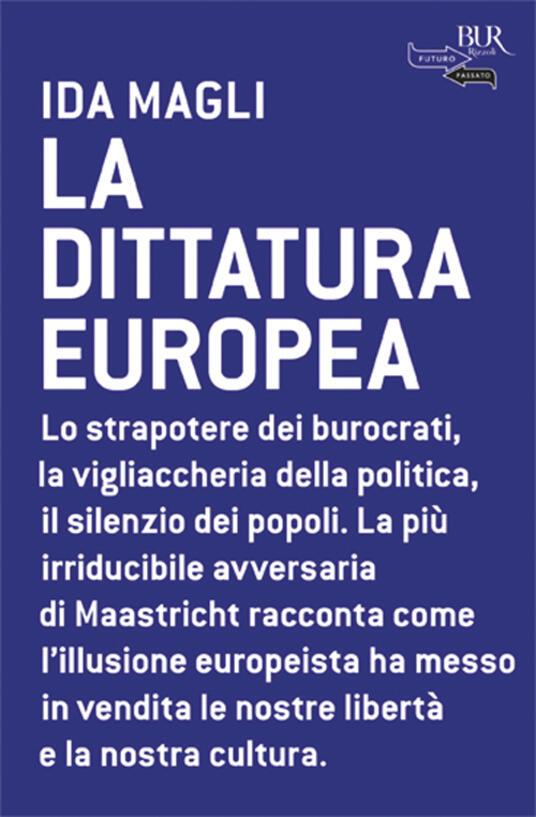 La dittatura europea - Ida Magli - copertina