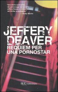 Libro Requiem per una pornostar Jeffery Deaver
