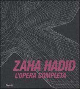 Libro L' opera completa Zaha Hadid