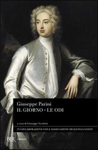 Foto Cover di Il giorno-Le odi, Libro di Giuseppe Parini, edito da BUR Biblioteca Univ. Rizzoli