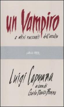 Premioquesti.it Un vampiro e altri racconti dell'occulto Image