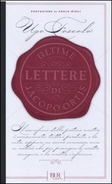 Premioquesti.it Ultime lettere di Jacopo Ortis Image