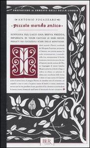 Foto Cover di Piccolo mondo antico, Libro di Antonio Fogazzaro, edito da BUR Biblioteca Univ. Rizzoli