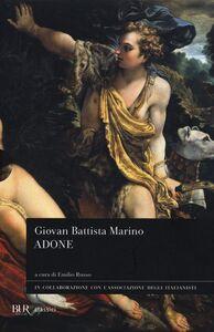Libro L' adone Giambattista Marino