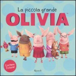 Libro La piccola grande Olivia Ian Falconer