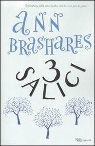 Libro Tre salici Ann Brashares
