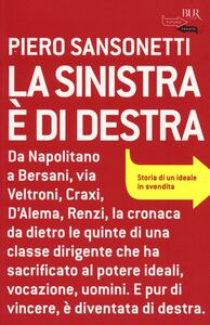 Libro La sinistra è di destra Piero Sansonetti