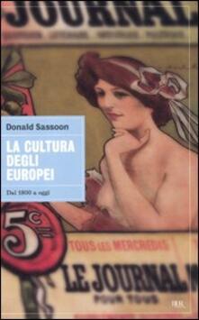 La cultura degli europei. Dal 1800 a oggi.pdf