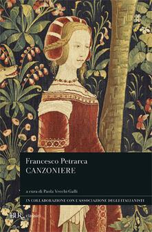 Canzoniere - Francesco Petrarca - copertina