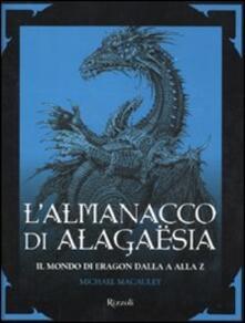Grandtoureventi.it L' almanacco di Alagaësia. Il mondo di Eragon dalla A alla Z Image
