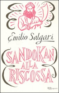 Libro Sandokan alla riscossa Emilio Salgari