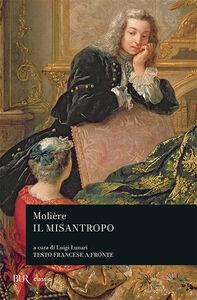 Foto Cover di Il misantropo, Libro di Molière, edito da BUR Biblioteca Univ. Rizzoli