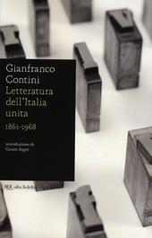 Letteratura dell'Italia unita 1861-1968