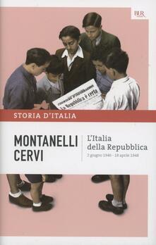 Radiospeed.it Storia d'Italia. Vol. 16: Italia della Repubblica (2 giugno 1946-18 aprile 1948), L'. Image