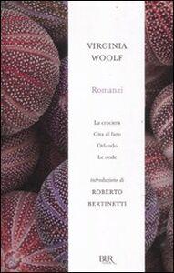 Libro Romanzi: La crociera-Gita al faro-Orlando-Le onde Virginia Woolf