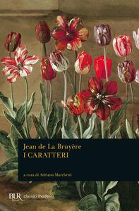 Libro I caratteri Jean de La Bruyère
