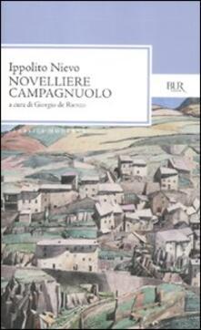 Novelliere campagnuolo - Ippolito Nievo - copertina
