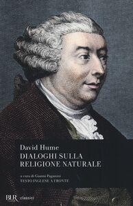 Libro Dialoghi sulla religione naturale. Testo inglese a fronte David Hume