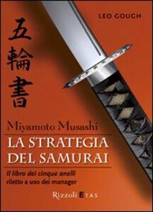 Libro La strategia del samurai Leo Gough