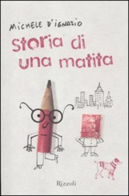 Storia di una matita - Michele D'Ignazio - copertina