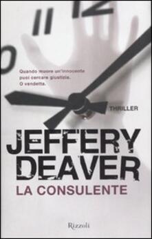 La consulente - Jeffery Deaver - copertina