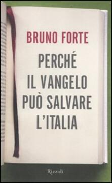 Osteriacasadimare.it Perché il Vangelo può salvare l'Italia Image