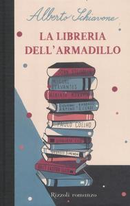 Libro La libreria dell'armadillo Alberto Schiavone