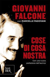 Libro Cose di Cosa Nostra Giovanni Falcone , Marcelle Padovani