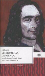 Libro Micromegas-L'Ingenuo Voltaire