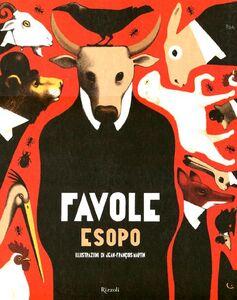 Foto Cover di Favole, Libro di Esopo,Jean-François Martin, edito da Rizzoli