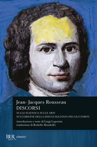 Libro Discorsi Jean-Jacques Rousseau
