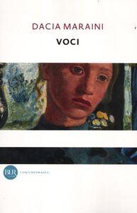 Libro Voci Dacia Maraini