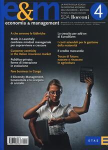 Economia & management. Vol. 4